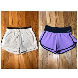 Pink shorts BUNDLE of two